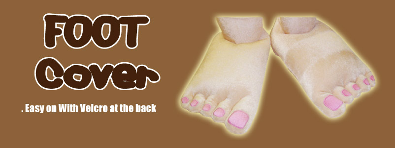 Caveman Bare Feet Cover